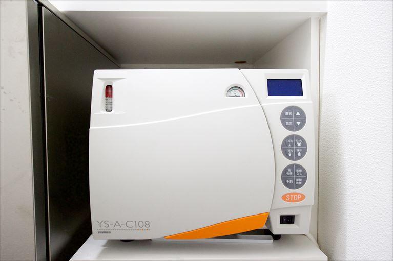 高圧洗浄滅菌器(オートクレーブ)