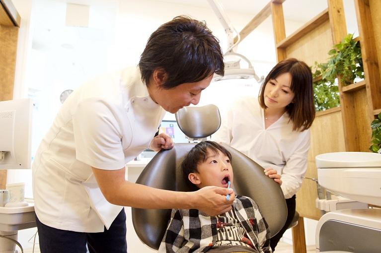 6歳臼歯健診